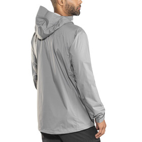 Black Diamond M's Stormline Stretch Rain Shell Jacket Ash